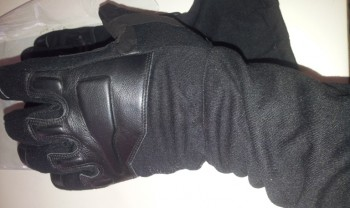 deri uzun eldiven siyah – 1