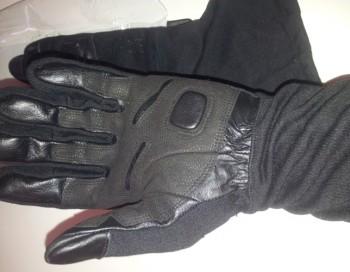 deri uzun eldiven siyah – 2