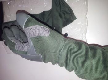 deri uzun eldiven yeşil – 1